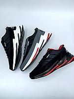 Кроссовки Adidas акула чвн крас 808-10