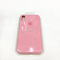Силиконовый чехол Apple Case light pink для iPhone X/10