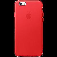 Оригинальный защитный кожаный чехол (PRODUCT)RED для iPhone 6/6S, Красный
