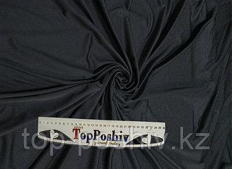 Ткань Сандвич Премиум Плюс, Термотрансфер, 160 см, черный дрозд