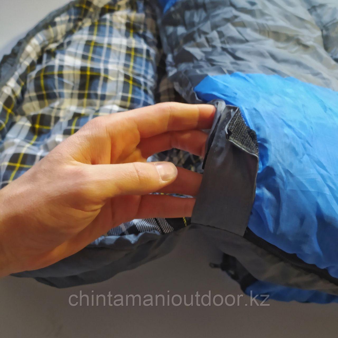 Спальный мешок зимний, шириной 1 м, качественный, новинка -25, -10, 0 - фото 2