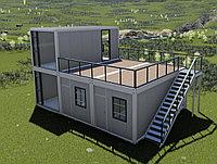 Модульный здания дом 90 кв.м