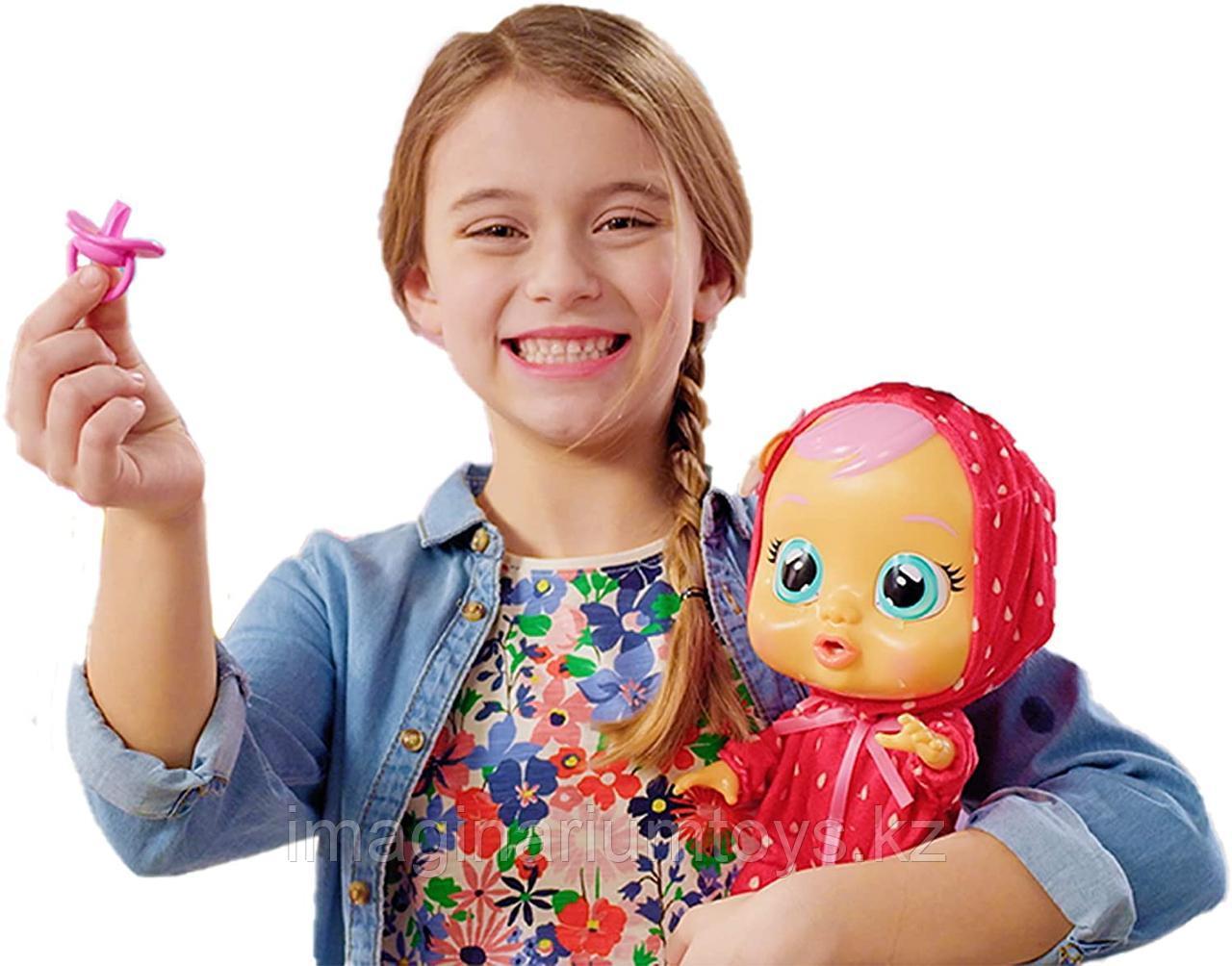 Кукла Cry Baby плачущая Элла с запахом клубники - фото 3