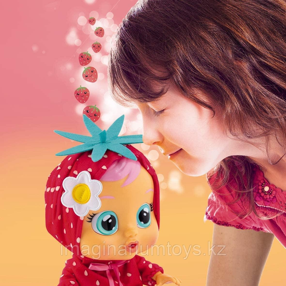 Кукла Cry Baby плачущая Элла с запахом клубники - фото 4