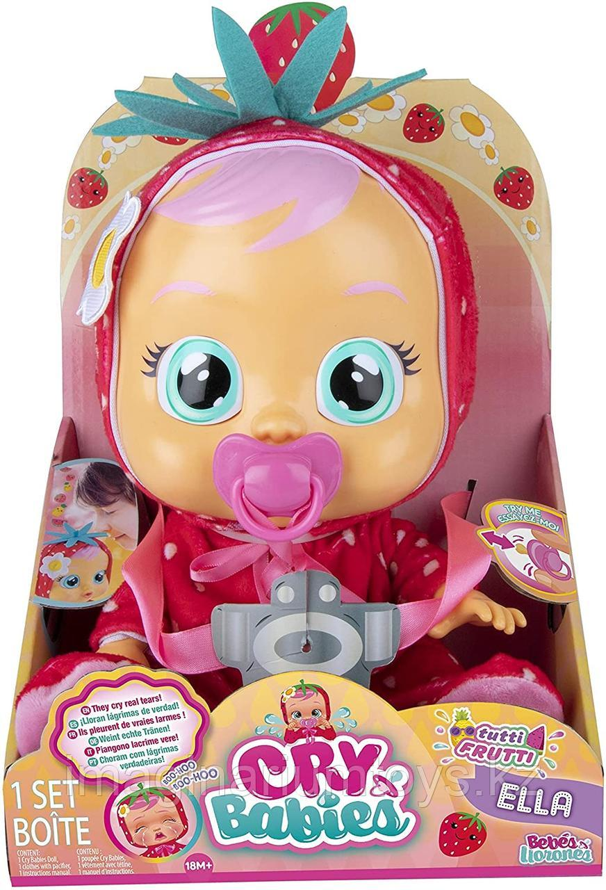 Кукла Cry Baby плачущая Элла с запахом клубники - фото 6