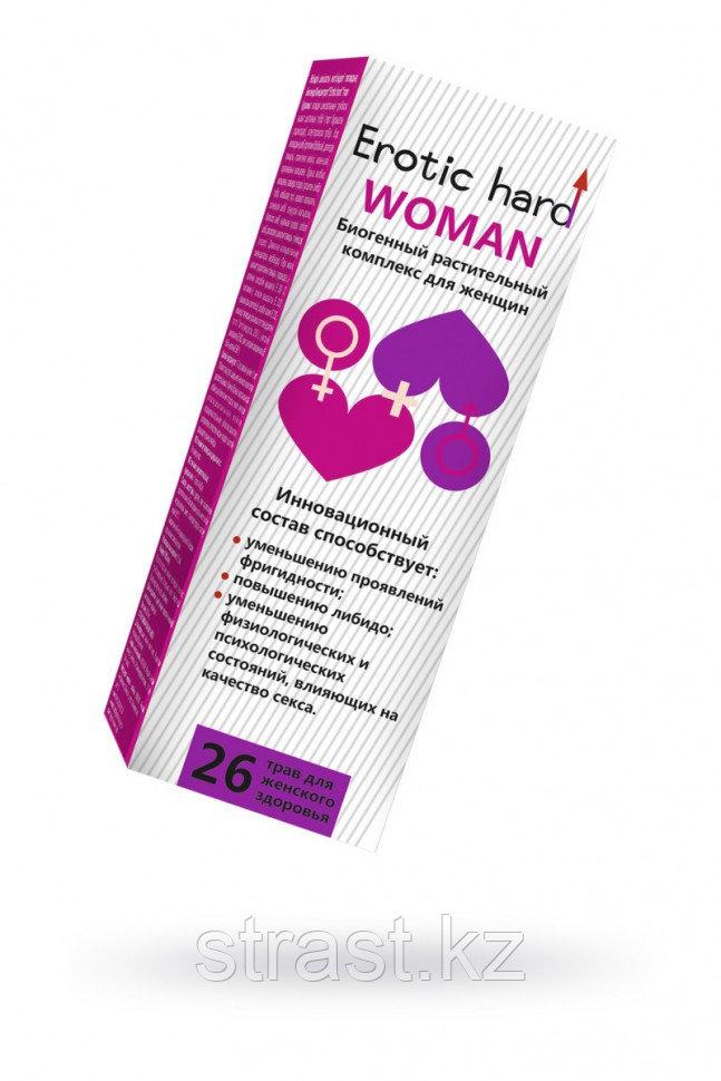 Концентрат Erotic hard WOMAN для повышения либидо и сексуальности, 250 мл