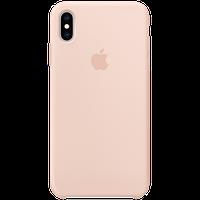 Оригинальный силиконовый чехол для iPhone XS Max - Pink Sand, Model