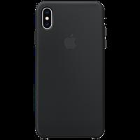 Оригинальный силиконовый чехол для iPhone XS Max - Black