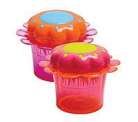 Расческа для волос детская Tangle Teezer Magic Flowerpot (Оранжево-розовый)