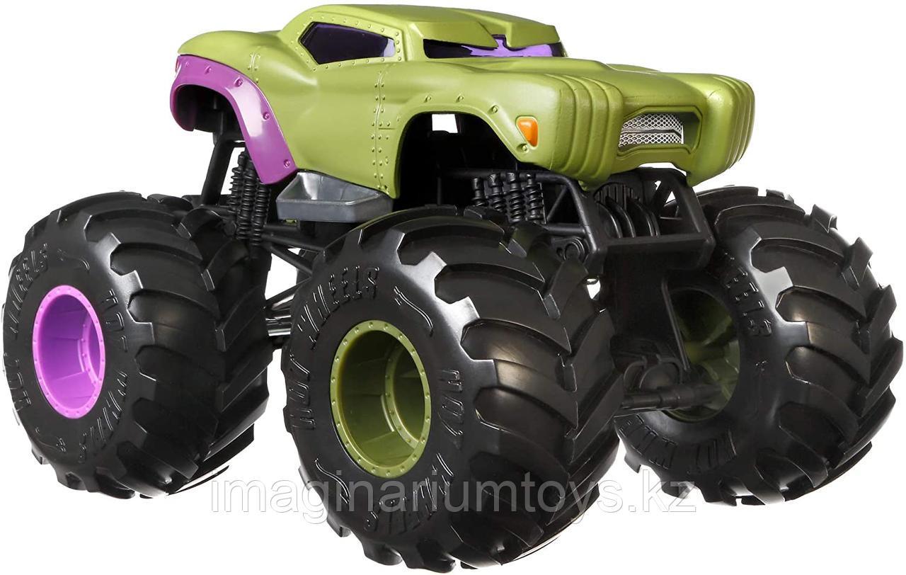Машинка Монстр Трак Халк Hot Wheels , масштаб 1:24