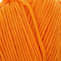 Пряжа 'Baby Best' 10 бамбук, 90 акрил 240м/100гр (336 оранжевый)