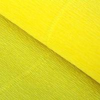 Бумага гофрированная, 575 'Лимонная', 0,5 х 2,5 м