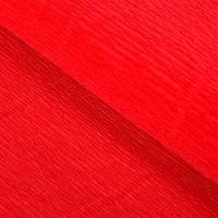 Бумага гофрированная, 580 'Красный апельсин', 0,5 х 2,5 м