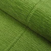 Бумага гофрированная 622 'Оливковый зелёный', 50 см х 2,5 м