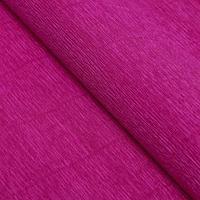 Бумага гофрированная, 572 'Цикламен фиолетовый', 0,5 х 2,5 м