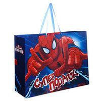 Пакет ламинированный горизонтальный 'Супер подарок. Великий Человек-паук', 61 х 46 см