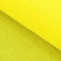 Бумага гофрированная, 975 'Лимонная', 0,5 х 2,5 м