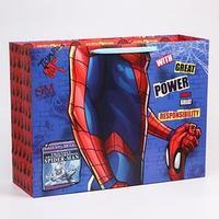 Пакет ламинат горизонтальный 'Spider-Man', Человек-паук, 61х46х20 см