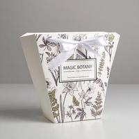 Пакет для цветов трапеция Magic botany, 10 x 23 x 23 см (комплект из 5 шт.)