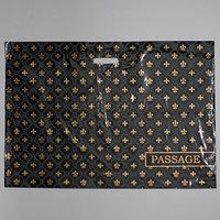 Пакет 'Пассаж', полиэтиленовый с вырубной ручкой, 71 х 50 см, 70 мкм (комплект из 50 шт.)