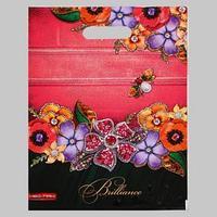 Пакет 'Самоцветы', полиэтиленовый с вырубной ручкой, 30х40 см, 60 мкм (комплект из 25 шт.)
