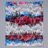 Пакет 'Цветы нежности', полиэтиленовый с вырубной ручкой, 36 х 45 см, 35 мкм (комплект из 50 шт.)