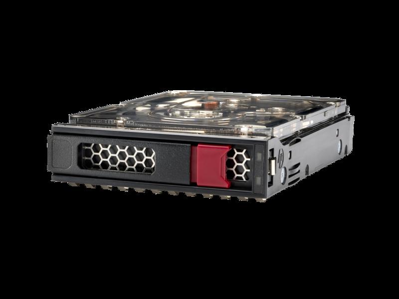 HPE 861686-B21 Жесткий диск серверный 1TB SATA 6G Midline 7.2K LFF (3.5in) LP 1yW