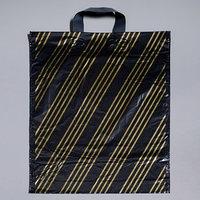 Пакет 'Золотая полоса', полиэтиленовый с петлевой ручкой, 38х45 см, 45 мкм (комплект из 50 шт.)