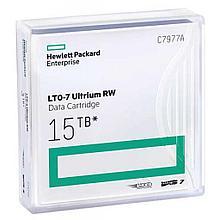 HPE C7977A Картридж для хранения данных LTO-7 Ultrium 15TB RW Data Cartridge