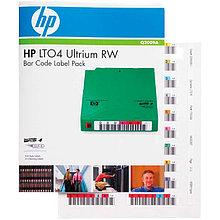 HPE Q2009A Набор наклеек для LTO-4 Ultrium Read/Write Bar Code Label Pack