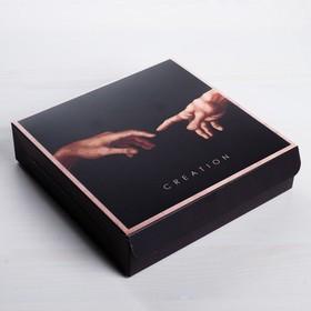 Коробка складная Creation, 14 x 14 x 3,5 см (комплект из 5 шт.) - фото 1