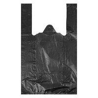 Пакет 'Чёрный', полиэтиленовый, майка, 25 х 45 см, 9 мкм (комплект из 200 шт.)