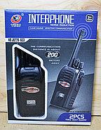 JQ220-6C3 Рация Interphone Hoisereduction 2 в 1 на батарейках 22*17, фото 2