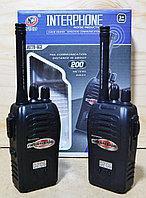 JQ220-6C3 Рация Interphone Hoisereduction 2 в 1 на батарейках 22*17, фото 1