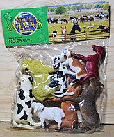 9538-1 Ферма животных FarmSet 8 шт в упаковке 27*22
