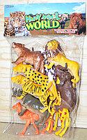 Q701-8 Дикие животные Африка 8 шт в упаковке 37*23