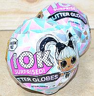 BB078 Кукла лол LOK Glitter Globes сюрприз в кристале светится, цена за 1шт 13*11, фото 1