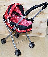 8816 Коляска Baby Car Riace лежачая красная 58*25