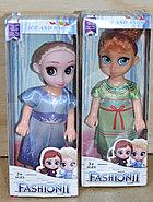 YXB06 Кукла Fashion холодное сердце 2 вида, 6 шт в уп., цена за 1шт 17*7, фото 2