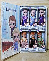 YXB06 Кукла Fashion холодное сердце 2 вида, 6 шт в уп., цена за 1шт 17*7, фото 1