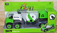 677-105 Трейлер мусоровоз разбирайка 32*18, фото 2