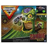 Игровой набор Monster Jam «Зона Зомби», фото 2