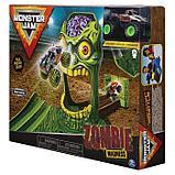Игровой набор Monster Jam «Зона Зомби», фото 3