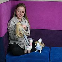 Мягкая игрушка «Лама Дэйзи», набор для вязания амигуруми, 17 × 5 × 15 см