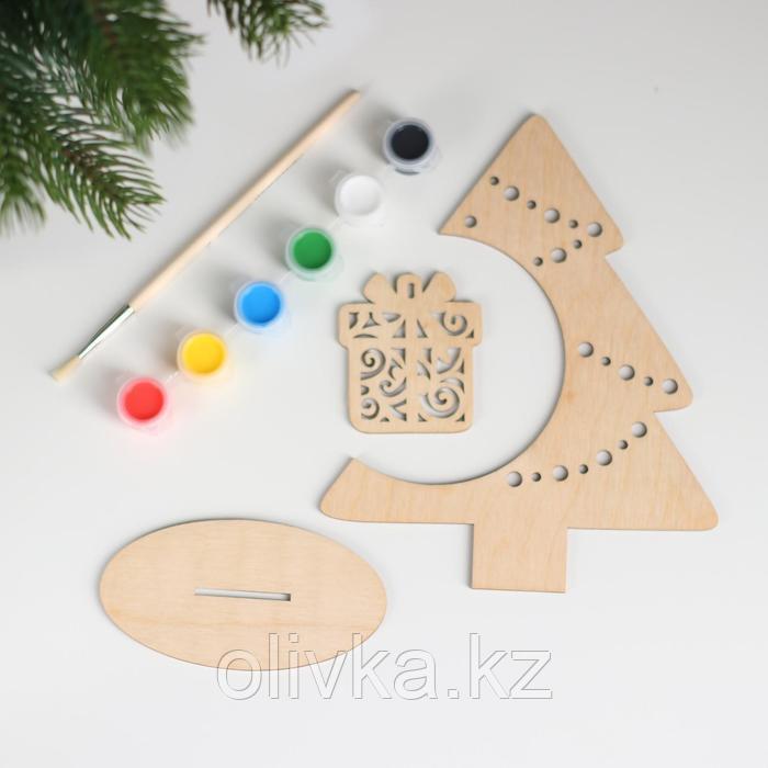 Набор для творчества «Нарядная ёлочка», подарок - фото 3