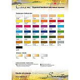 Краска масляная художественная «Сонет», 46 мл, сиена жжёная, в тубе № 10, фото 2