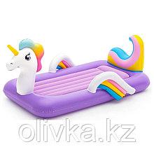 Кровать надувная Dream Chaser «Единорог», 196 x 104 x 84 см, 67713 Bestway