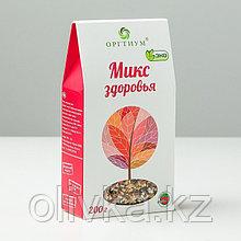 Микс здоровья: семена чиа, ягоды годжи, семена масличного и белого льна, семена тёмного и светлого кунжута,