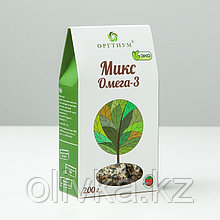 Микс Омега-3: семена чиа, семена конопли, семена тёмного и светлого льна, семена тёмного и светлого кунжута,