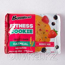 Овсяное печенье BOMBBAR, ягодный микс, 40 г